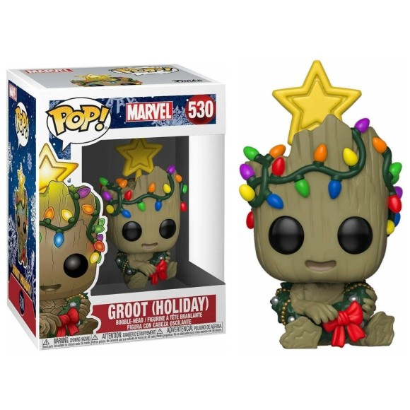 POP GROOT (HOLIDAY) 530 MARVEL - FUNKO