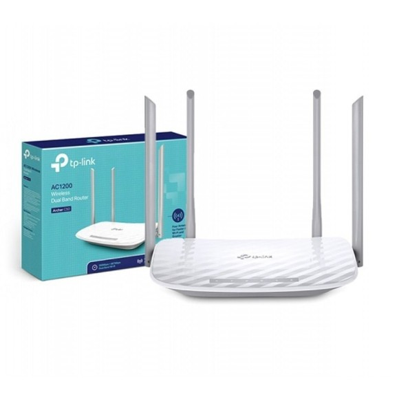 ROTEADOR WIRELESS AC1200 C50 - TP-LINK
