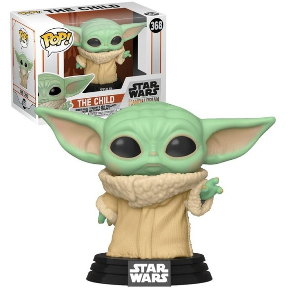 POP THE CHILD (BABY YODA) 368 THE MANDALORIAN - FUNKO