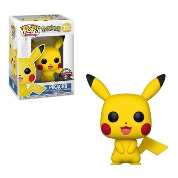 POP PIKACHU (SPECIAL EDITION) 353 POKEMON - FUNKO